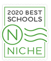 Niche Best Schools 2020 Badge