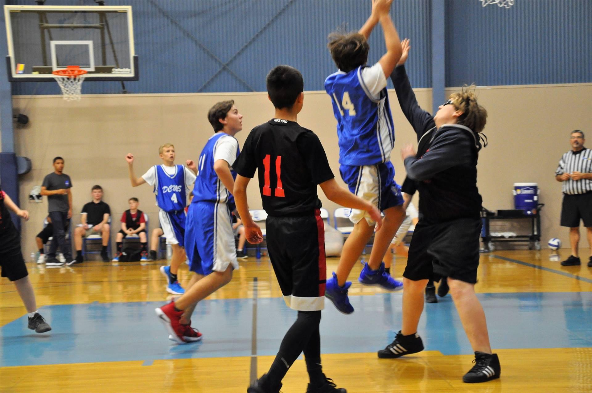 AOTMS Boys Basketball