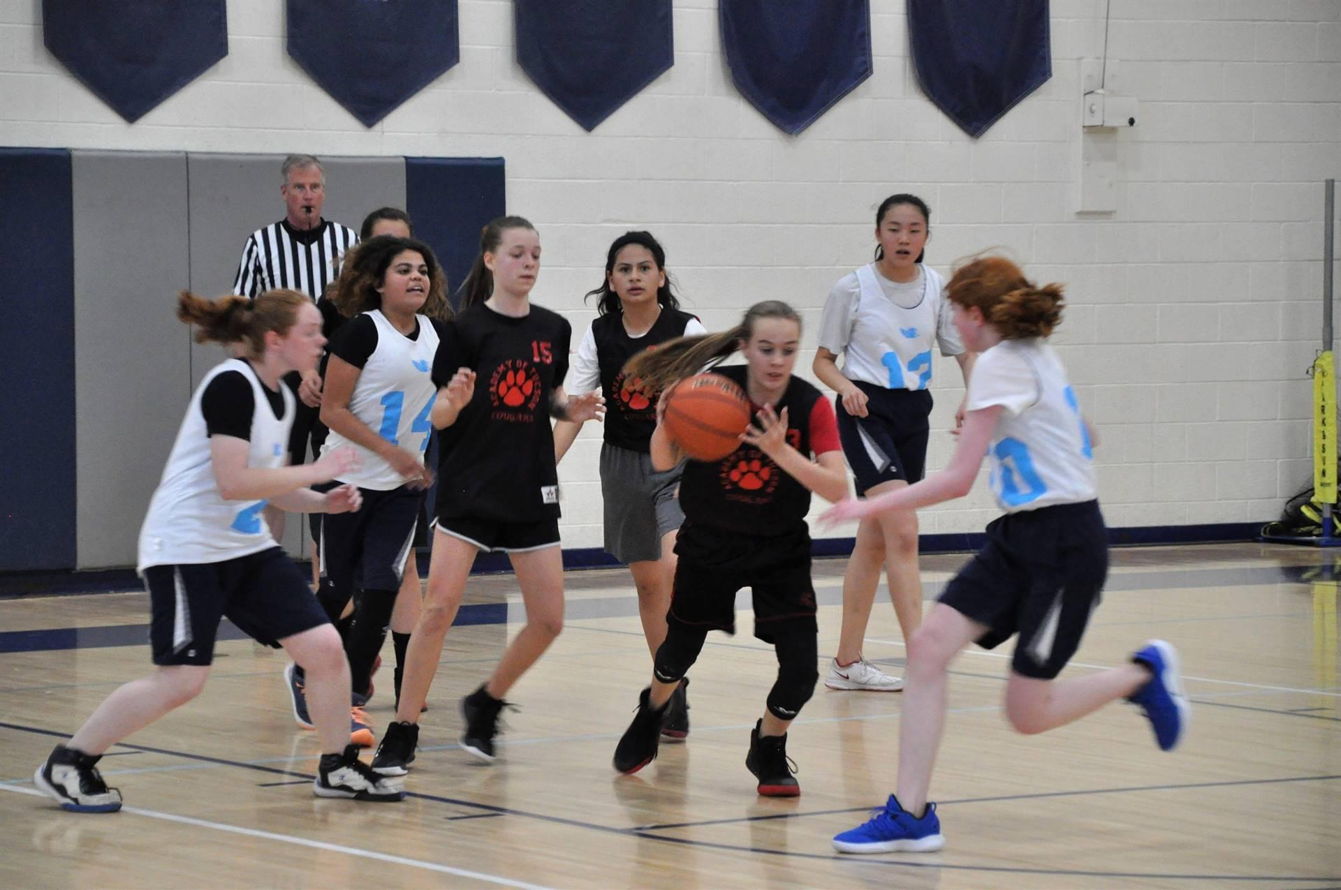 AOTMS Girls Basketball