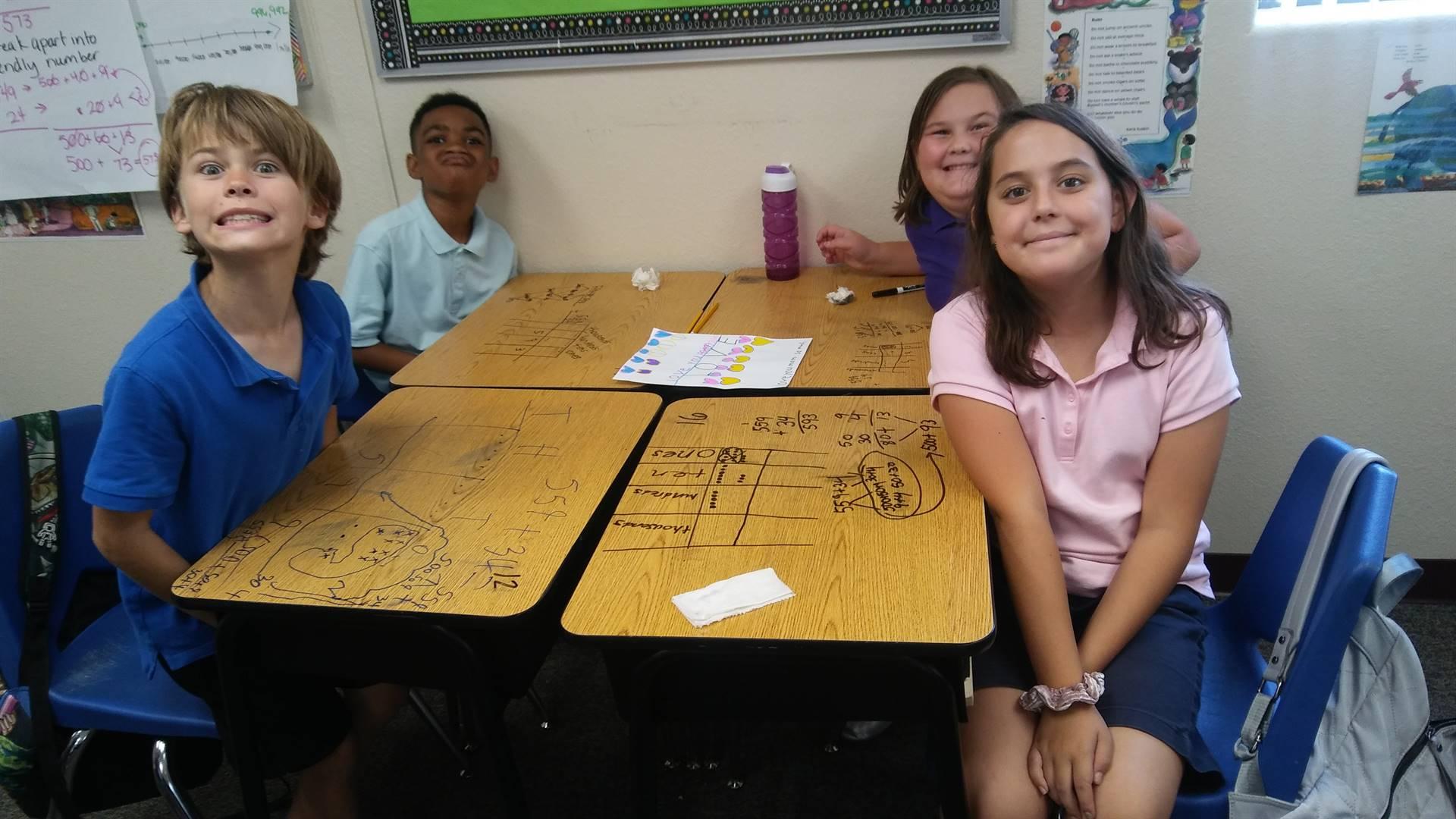 4th Grade mathematicians
