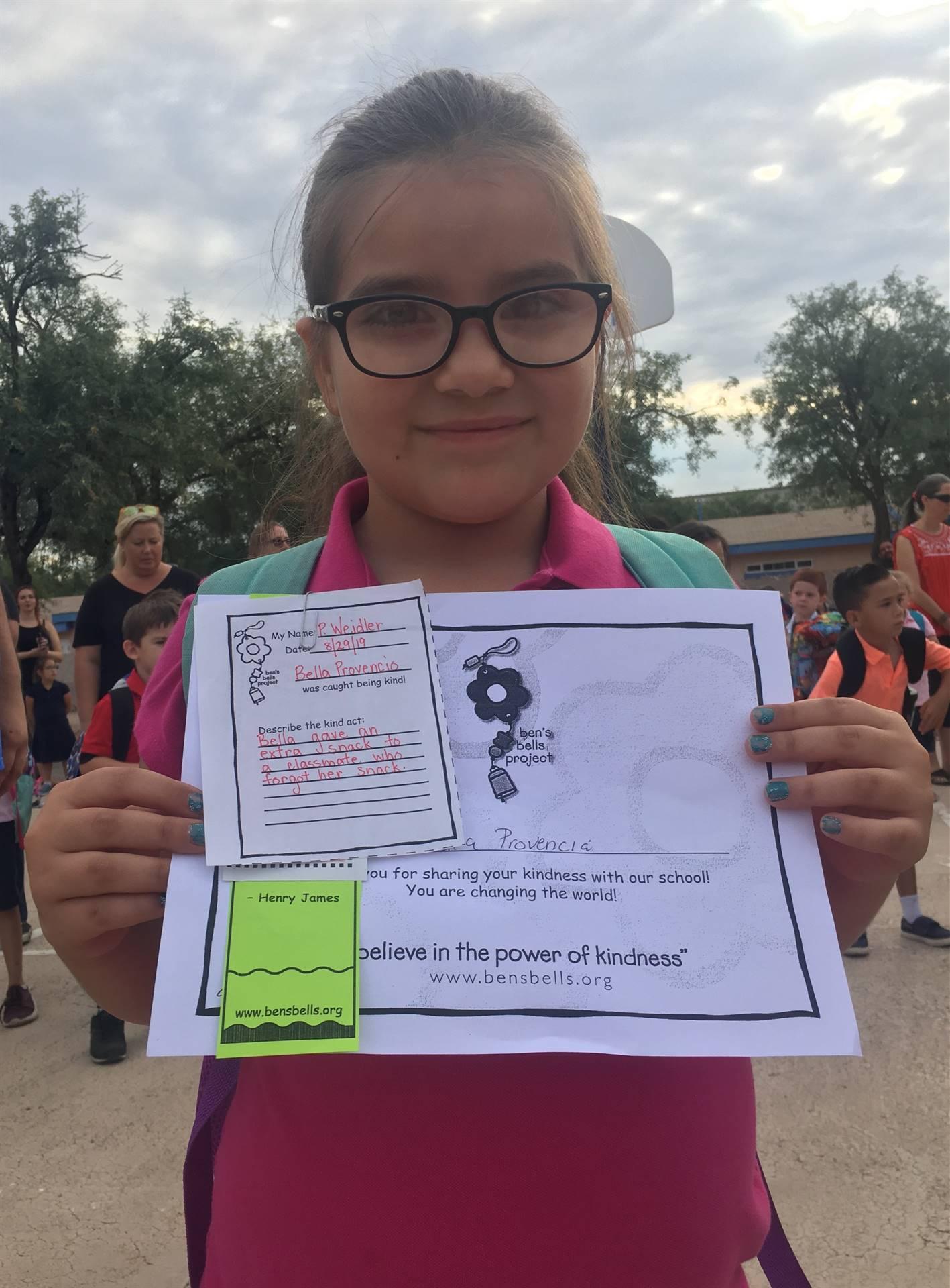 1st Grade Kind Kid