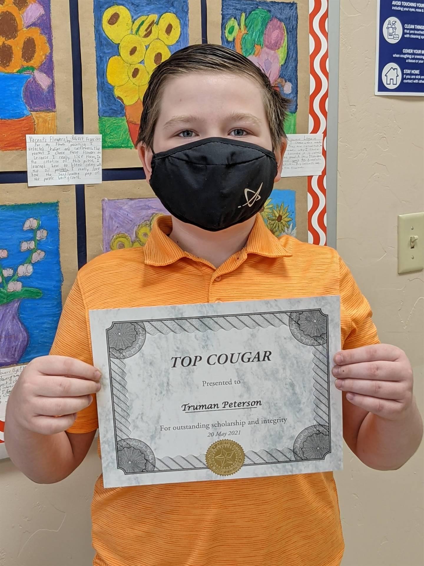 Top Cougar Award