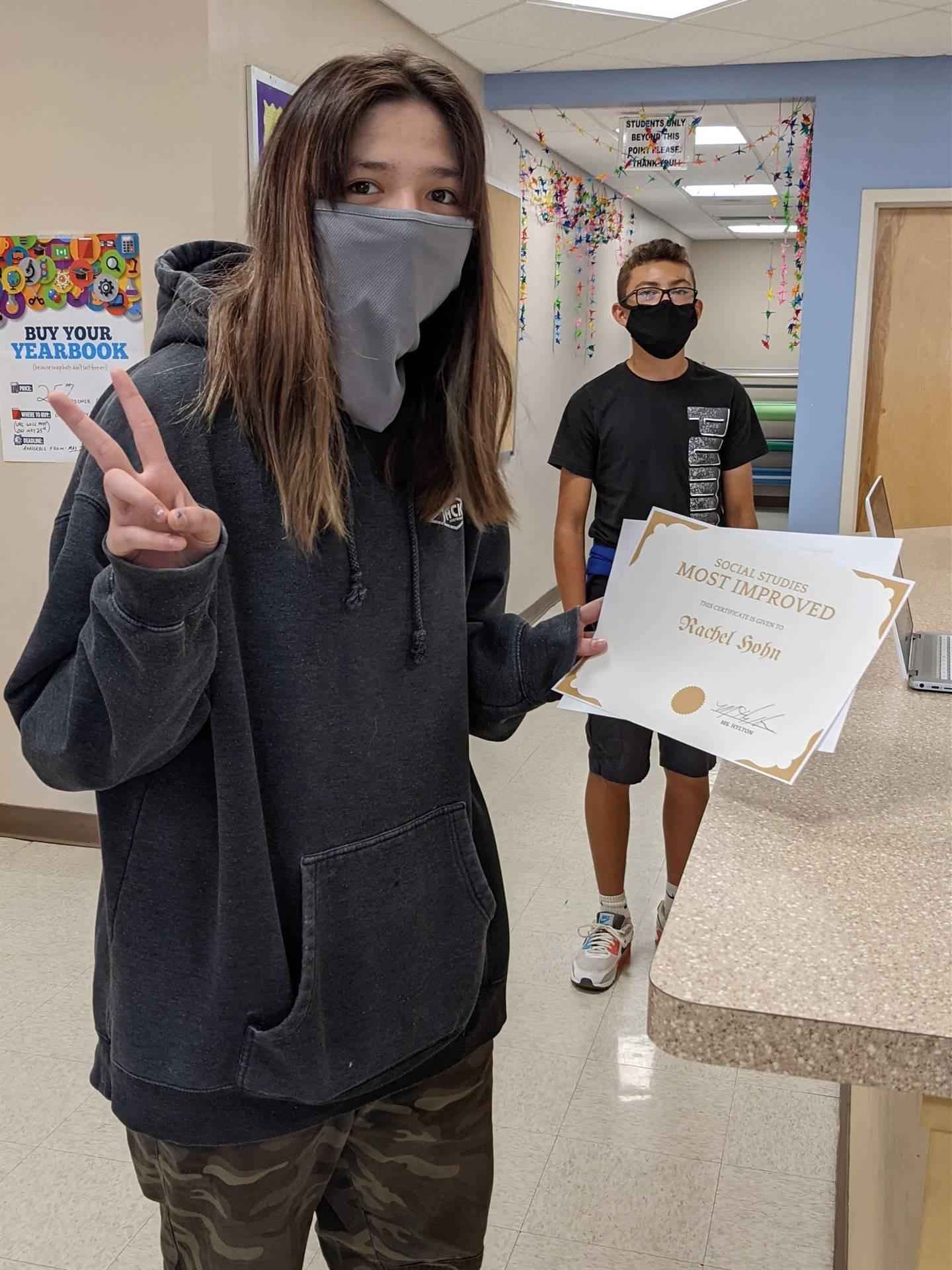 Receiving Award