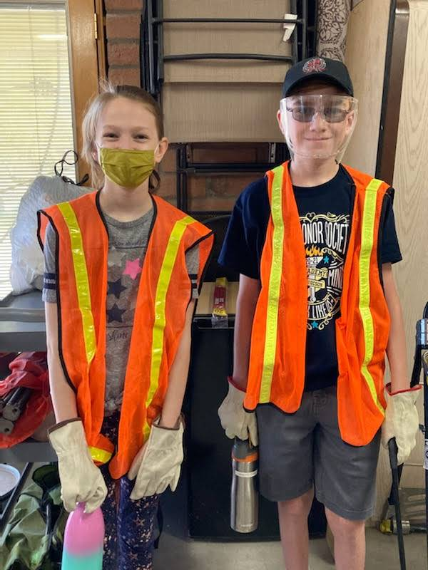NJHS Adopt-a-Roadway Community Service Project